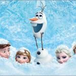 Rótulo Bolinha de Sabão Frozen Disney - Uma Aventura Congelante: