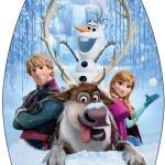 Rótulo Esmalte Frozen Disney - Uma Aventura Congelante: