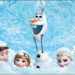 Rótulo Champagne, Vinho e Espumante Frozen Disney - Uma Aventura Congelante: