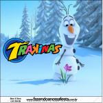 Rótulo Mini Trakinas Frozen Disney - Uma Aventura Congelante: