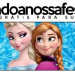 Rótulo Pote Papinha Frozen Disney - Uma Aventura Congelante: