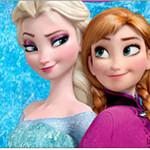 Rótulo Copinho de Brigadeiro Frozen Disney - Uma Aventura Congelante: