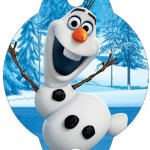 Enfeite Canudinho Frozen Disney - Uma Aventura Congelante: