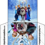 Envelope CD DVD Frozen Disney - Uma Aventura Congelante: