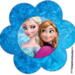 Flor Frozen Disney - Uma Aventura Congelante: