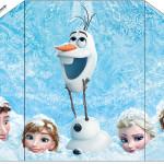 Envelope Convite Frozen Disney - Uma Aventura Congelante: