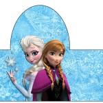 Rótulo Pipoca Frozen Disney - Uma Aventura Congelante:
