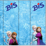 Rótulo Bis Frozen Disney - Uma Aventura Congelante: