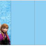 Convite,Cardápio ou Cronograma em Z Frozen Disney - Uma Aventura Congelante: