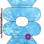 Convite Vestido Frozen Disney - Uma Aventura Congelante: