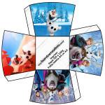 Chachepô de Mesa Frozen Disney - Uma Aventura Congelante: