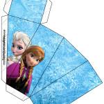 Caixa Fatia Frozen Disney - Uma Aventura Congelante: