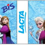 Rótulo Bis Duplo Frozen Disney - Uma Aventura Congelante: