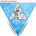 Caia Pirâmide Frozen Disney - Uma Aventura Congelante: