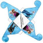 Caixa Bom Bom Frozen Disney - Uma Aventura Congelante: