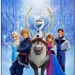 Tag Agradecimento Frozen Disney - Uma Aventura Congelante: