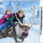 Rolinho de Papel Higiênico Frozen Disney - Uma Aventura Congelante: