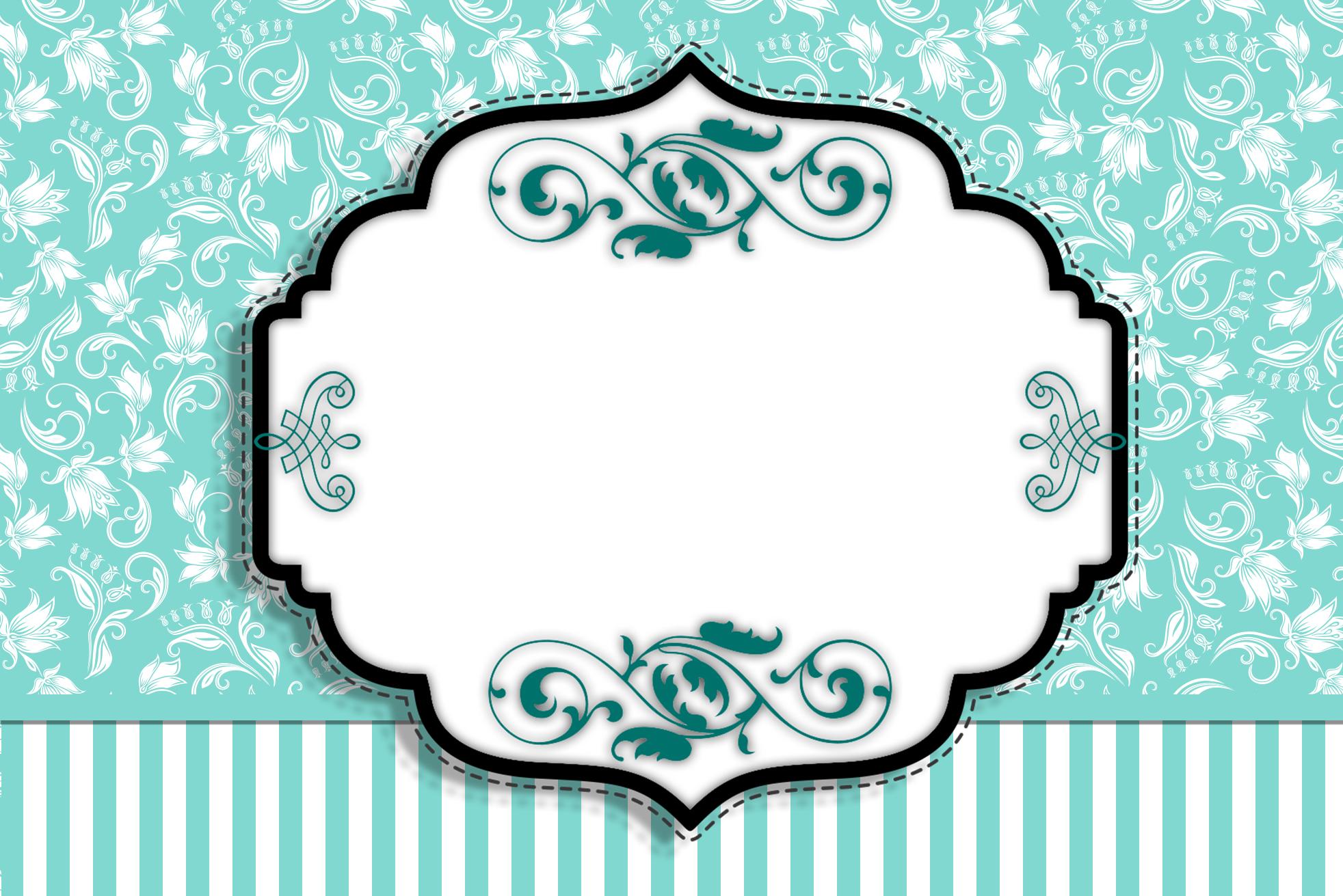 Kit Azul Tiffany Fazendo A Nossa Festa 10 Car Interior Design #257973 1964 1311