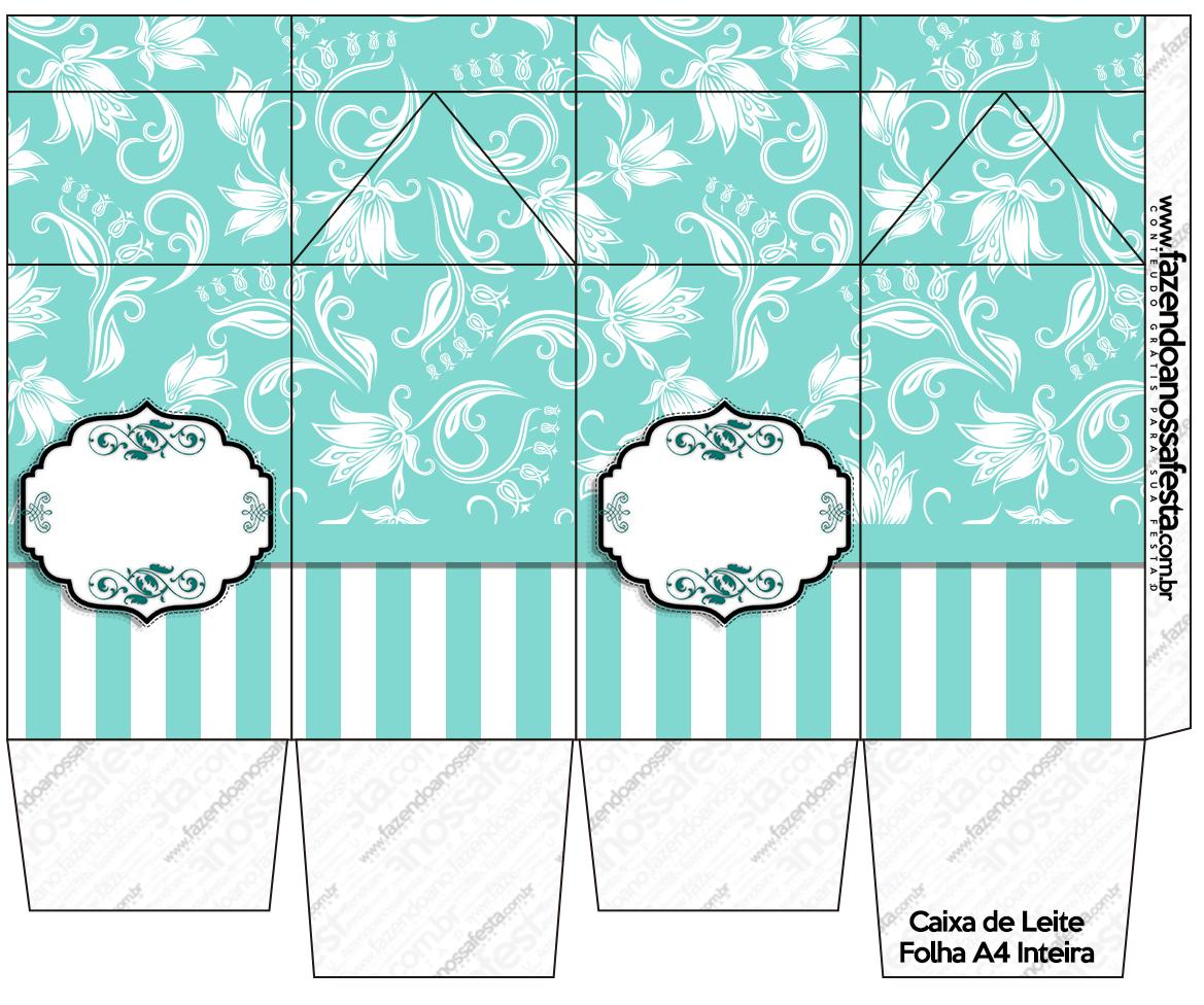 Kit Azul Tiffany Fazendo a Nossa Festa (18) Fazendo a Nossa Festa #125852 1169 976