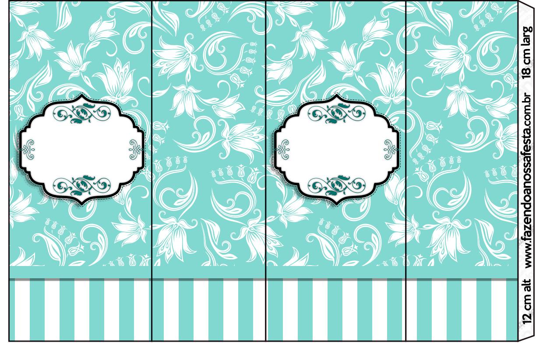 Kit Azul Tiffany Fazendo A Nossa Festa 4 Jpg Car Interior Design #319A92 1240 784