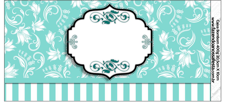 Kit Azul Tiffany Fazendo a Nossa Festa (28) - Fazendo a Nossa Festa 075874b657