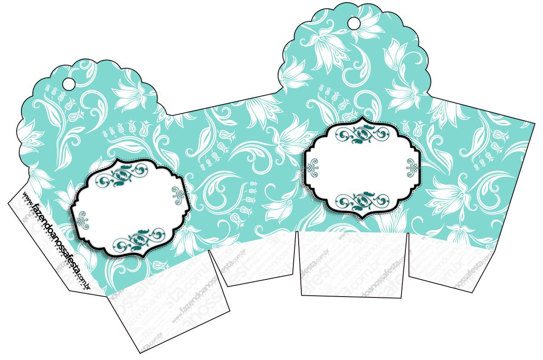 Kit Azul Tiffany Fazendo A Nossa Festa 84 Jpg Car Interior Design #185954 1240 823