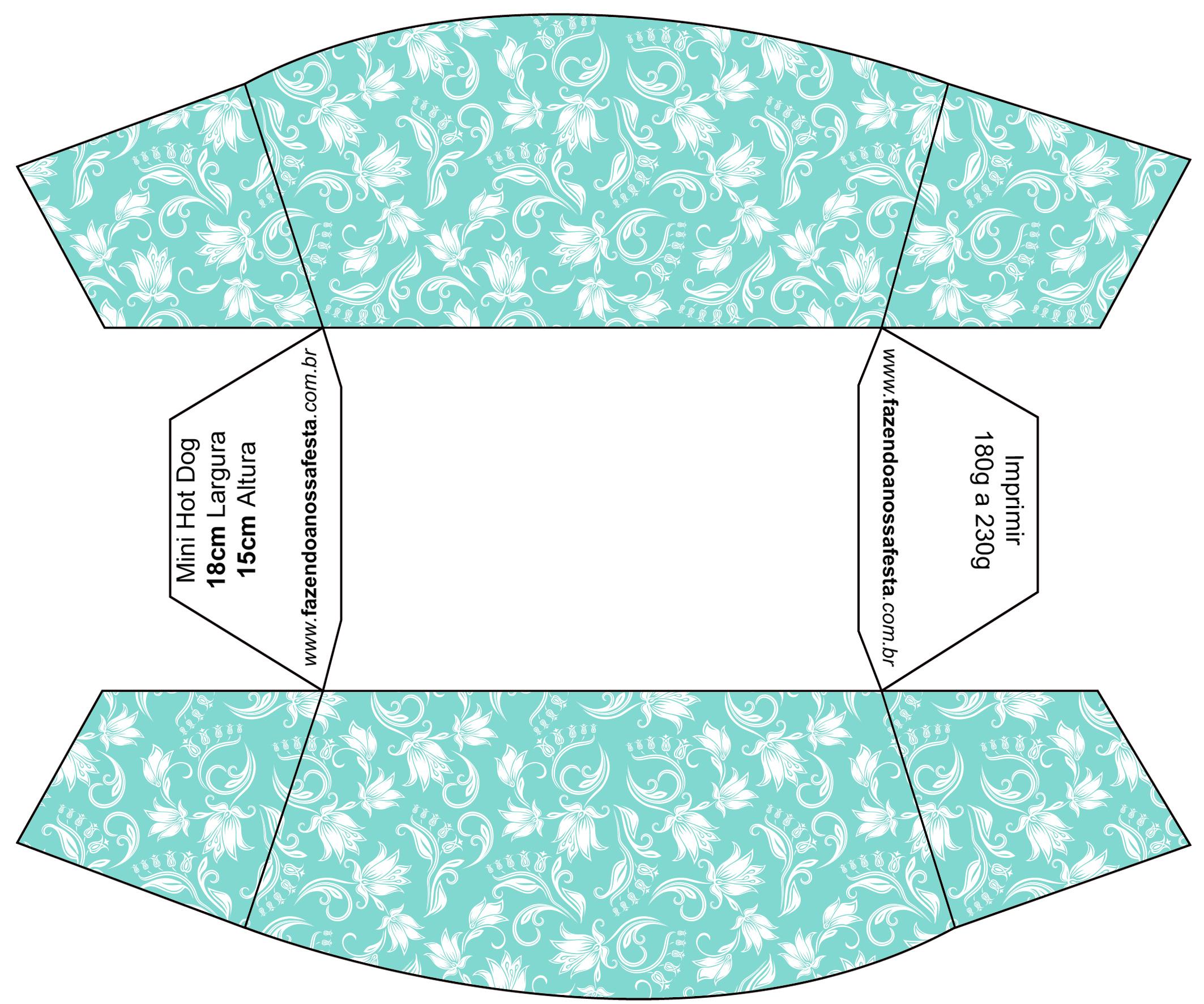 Kit Azul Tiffany Fazendo a Nossa Festa (4) Fazendo a Nossa Festa #309B92 2126 1772