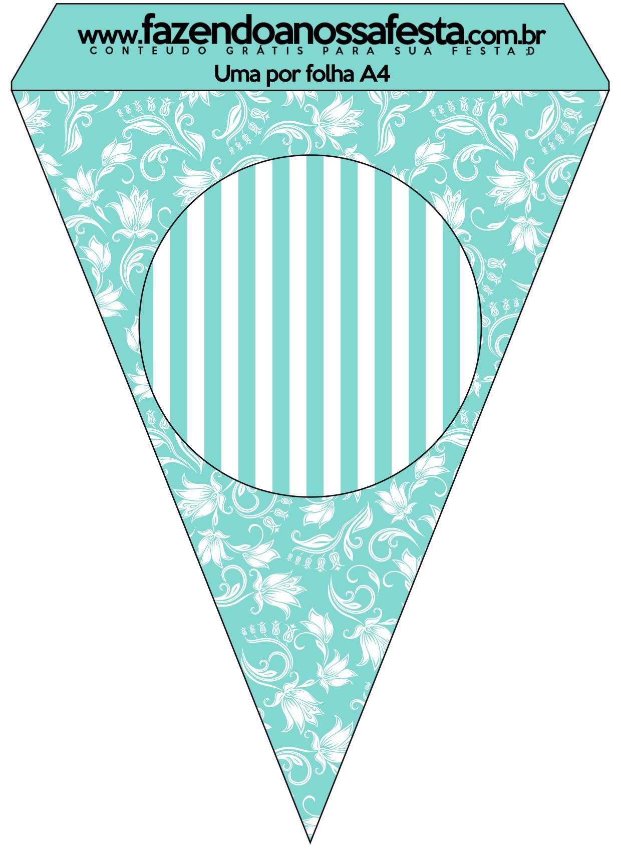 Kit Azul Tiffany Fazendo A Nossa Festa 35 Car Interior Design #309B91 1240 1697