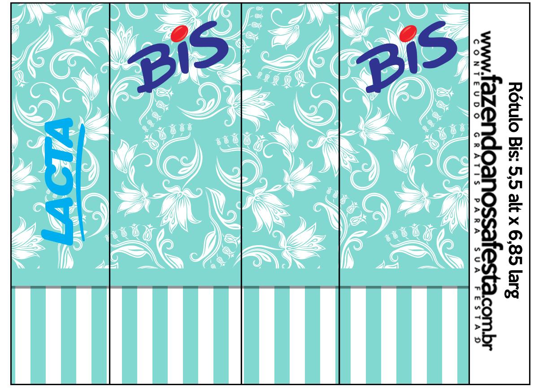 Kit Azul Tiffany Fazendo A Nossa Festa 35 Car Interior Design #048DC7 1240 871