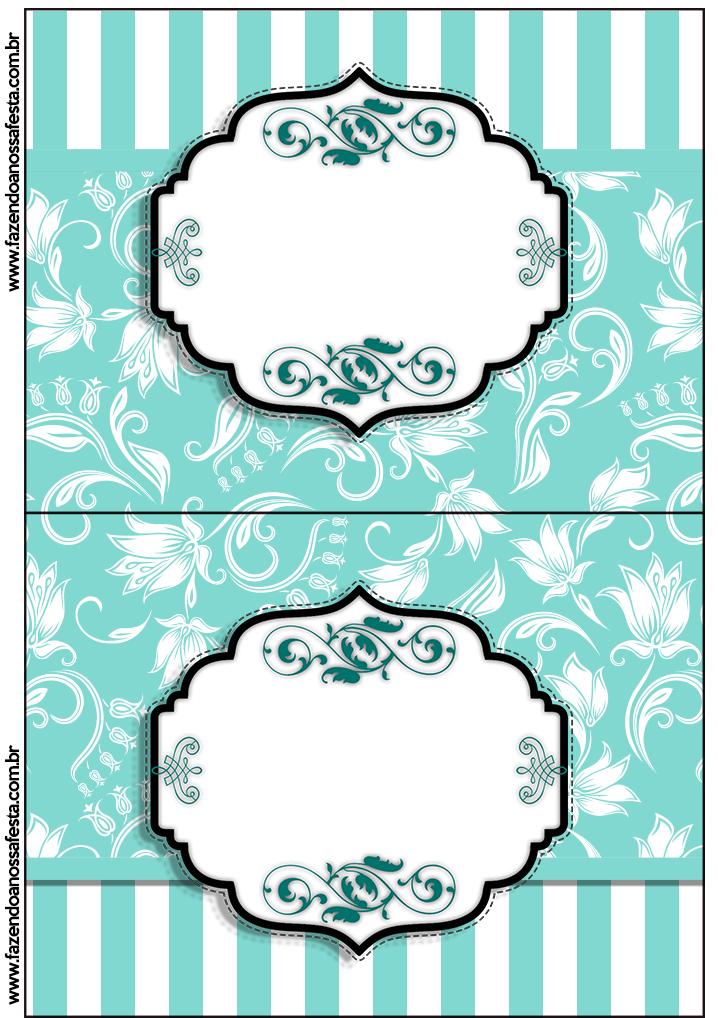 Kit Azul Tiffany Fazendo a Nossa Festa (60) - Fazendo a ...