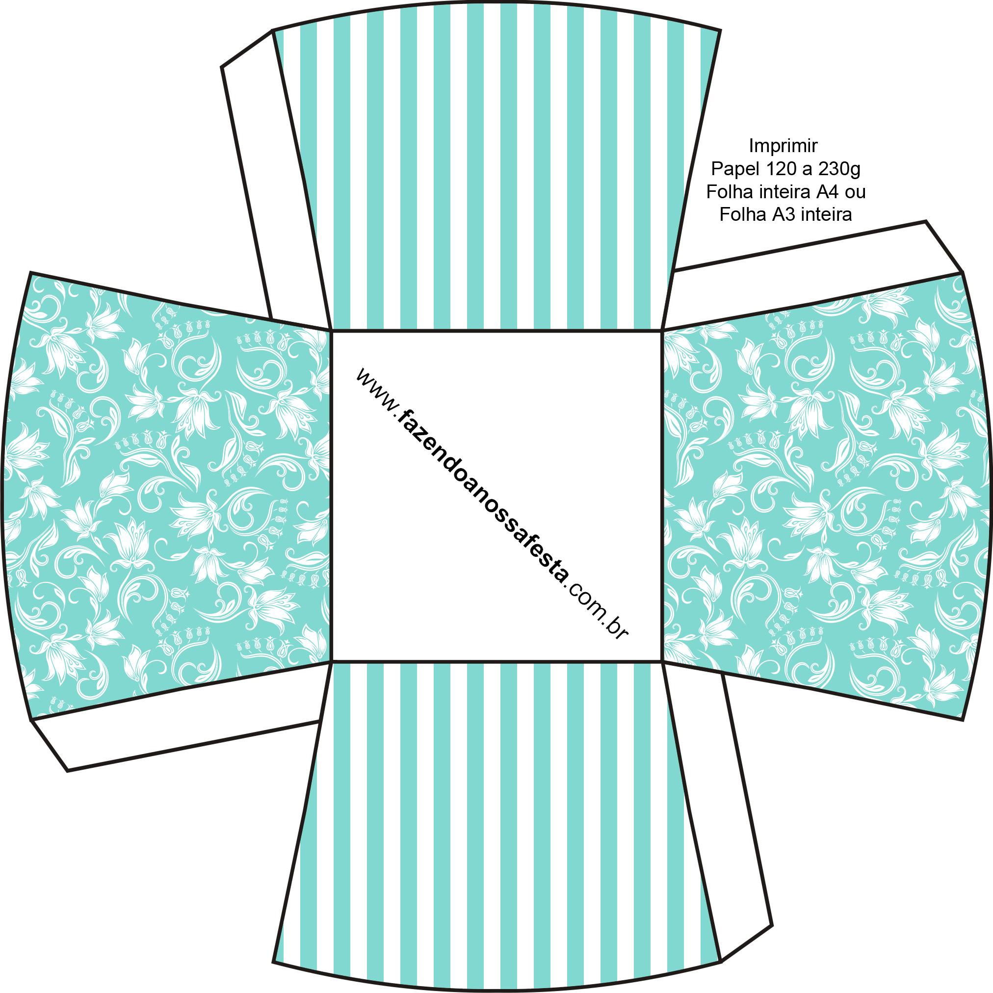 Kit Azul Tiffany Fazendo A Nossa Festa 62 Car Interior Design #309B91 2024 2024