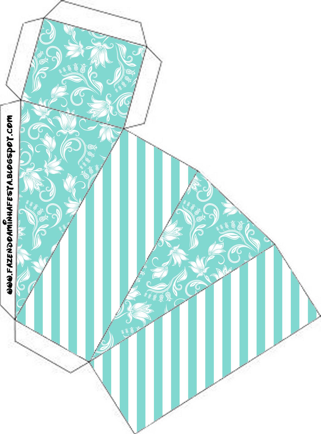 Kit Azul Tiffany Fazendo A Nossa Festa 65jpg Car Interior Design #319A90 1276 1724