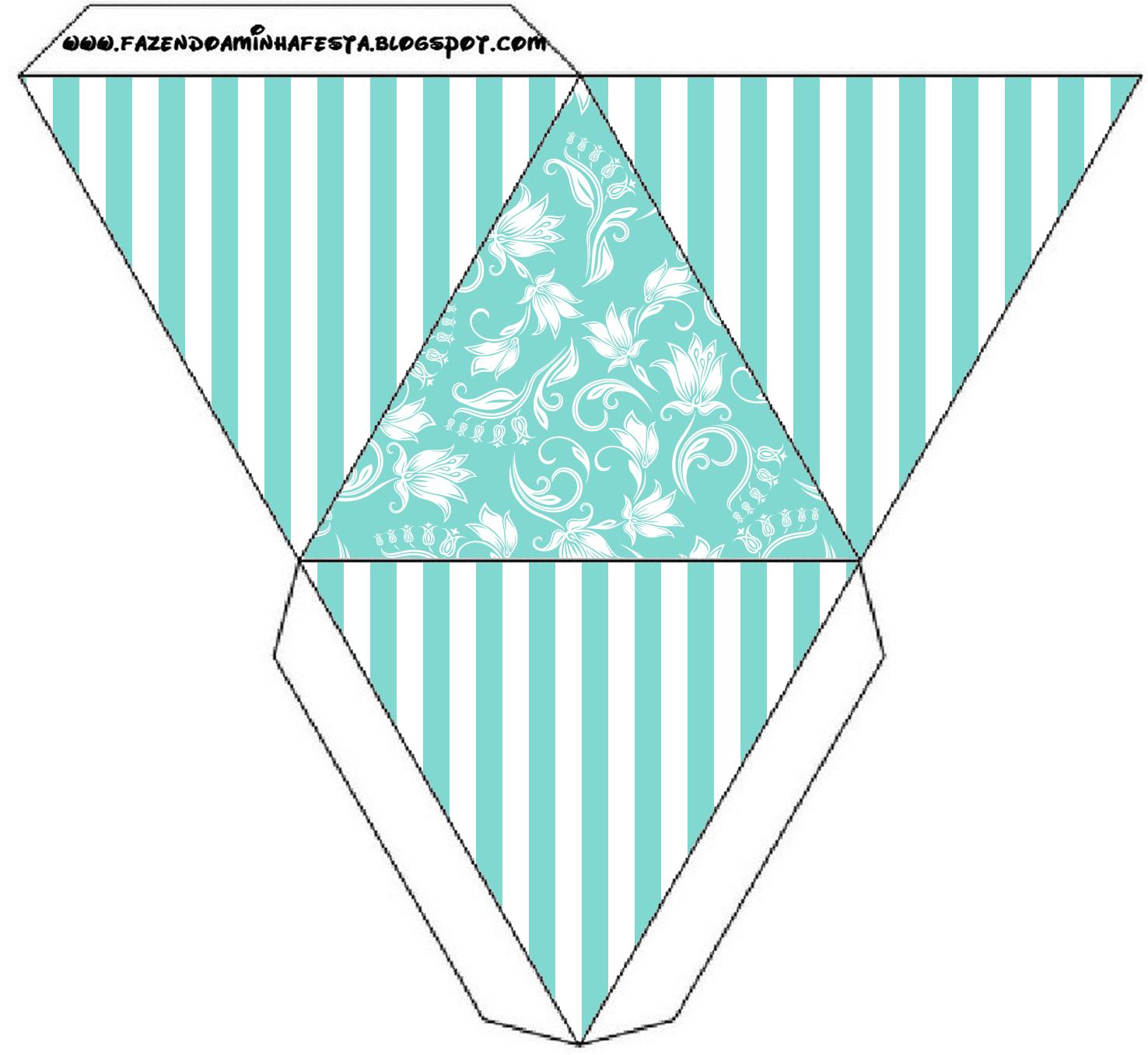 Kit Azul Tiffany Fazendo A Nossa Festa 84 Jpg Car Interior Design #309B91 1476 1356