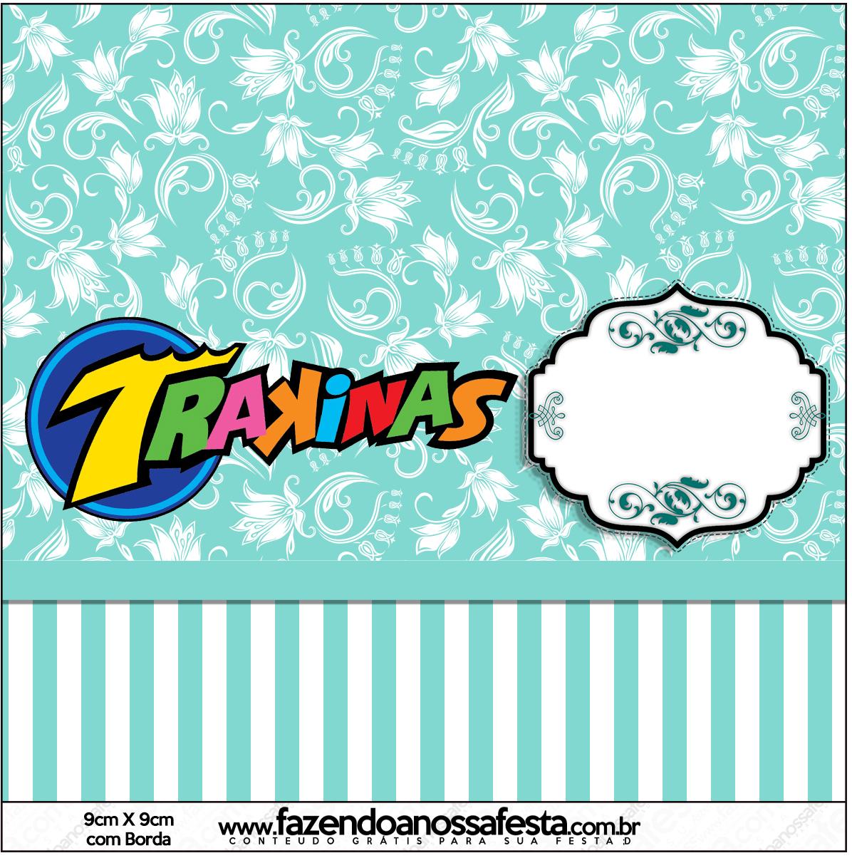 Kit Azul Tiffany Fazendo A Nossa Festa 60 Car Interior Design #009ACC 1196 1204