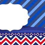 Fundo Marinheiro – Kit Completo Digital com molduras para convites, rótulos para guloseimas, lembrancinhas e imagens!