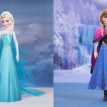 Bonecas 3D do Filme Frozen da Disney!