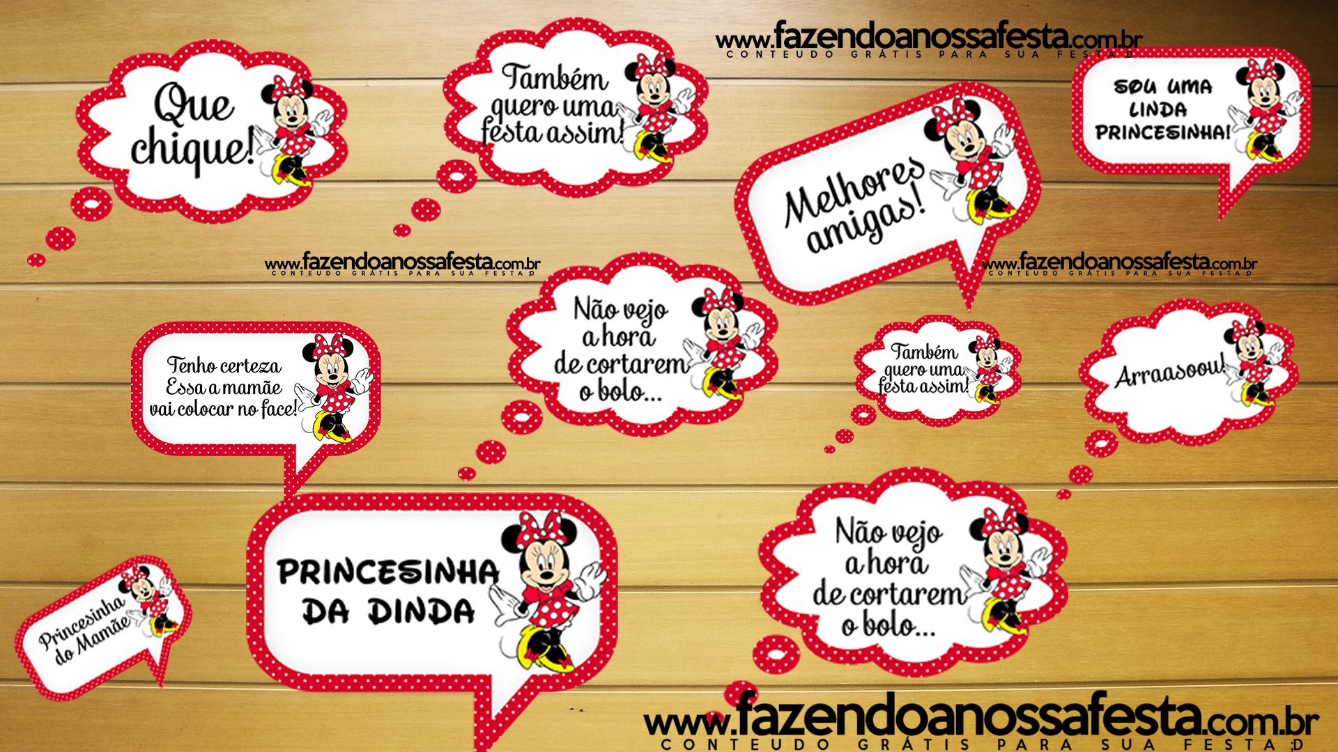 Tema Minnie Vermelha é um dos mais escolhidos para festa infantil ...
