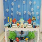 Tema: Fundo do Mar – Festa da Leitora Giovana Freitas!