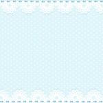 Poá Azul e Renda – Kit Completo Digital com molduras para convites, rótulos para guloseimas, lembrancinhas e imagens!