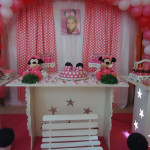 Tema: Minnie Rosa – Festa da Leitora Vanessa Segui!