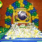 Tema: Copa do Mundo – Festa da Leitora Michelle Uchôa Pinheiro!