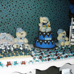 Tema:Ursinho Marrom e Azul  – Festa da Leitora Shyrlene Alves!