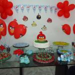 Tema: Angry Birds – Festa da Leitora Marcelle Sampaio!