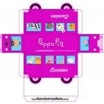 Onibus Peppa Pig Rosa