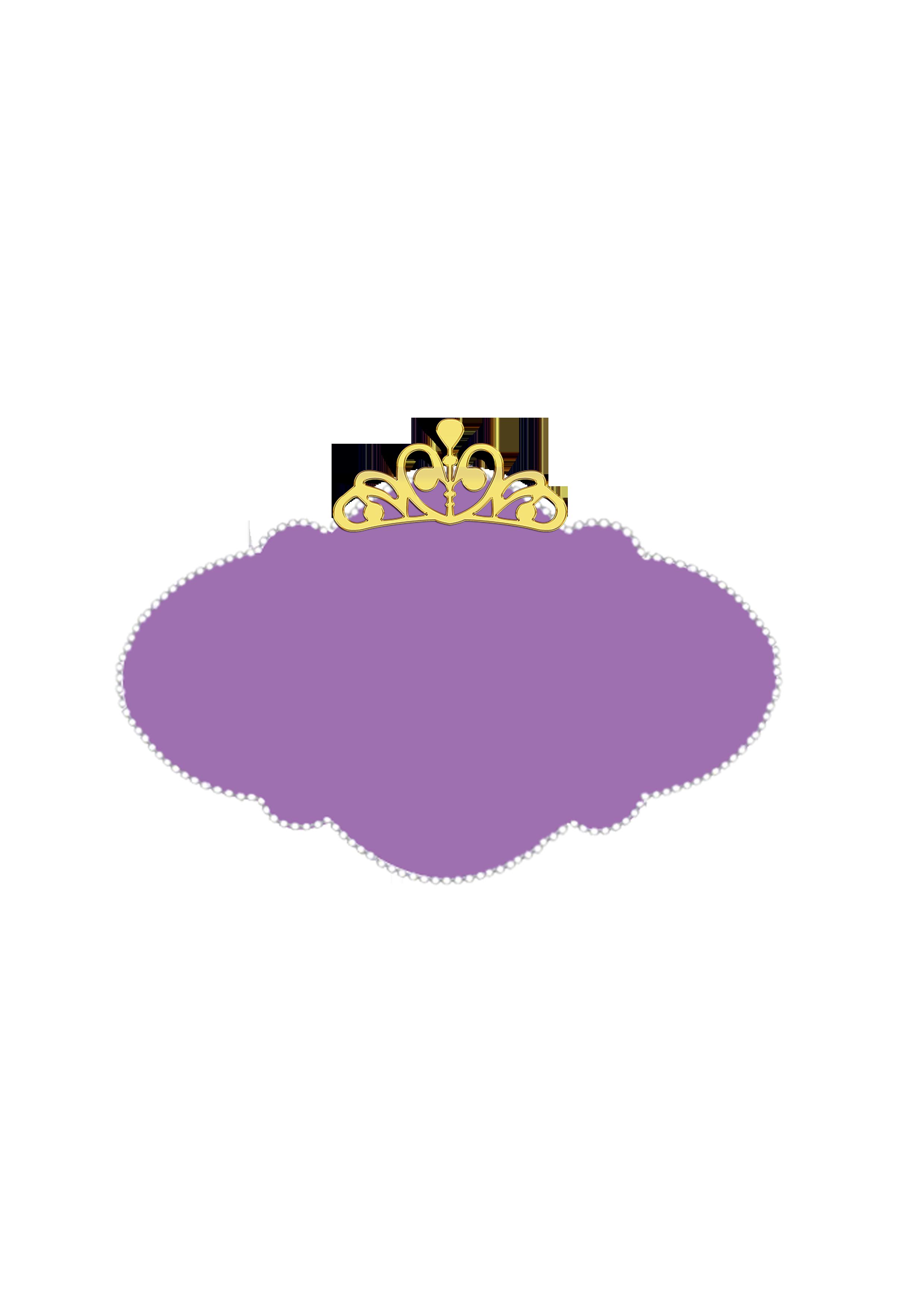 Frame Princesa Sofia da Disney: