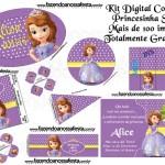 Princesa Sofia da Disney – Kit Completo