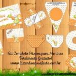 Páscoa – Kit Completo Digital com molduras para convites, rótulos para guloseimas, lembrancinhas e imagens!