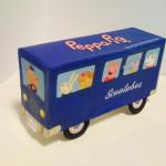 Ônibus da Peppa Pig e seus amigos para Imprimir, Recortar e Montar!