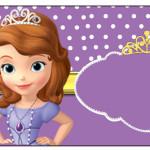 Rótulo Squezze  Princesa  Sofia da Disney: