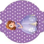 Enfeite Canudinho Princesa  Sofia da Disney: